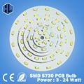 10 PCS 3 W 5 W 7 W 9 W 12 W 15 W 18 W 20 W 24 W 5630/5730 brilho SMD Luz Painel de Led Board Lâmpada Para PCB Teto Com LED