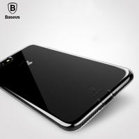 Baseus original brand Transparent case for iPhone 7 case Ultra Thin phone cover for iPhone 7 Plus cases back TPU silicon shell