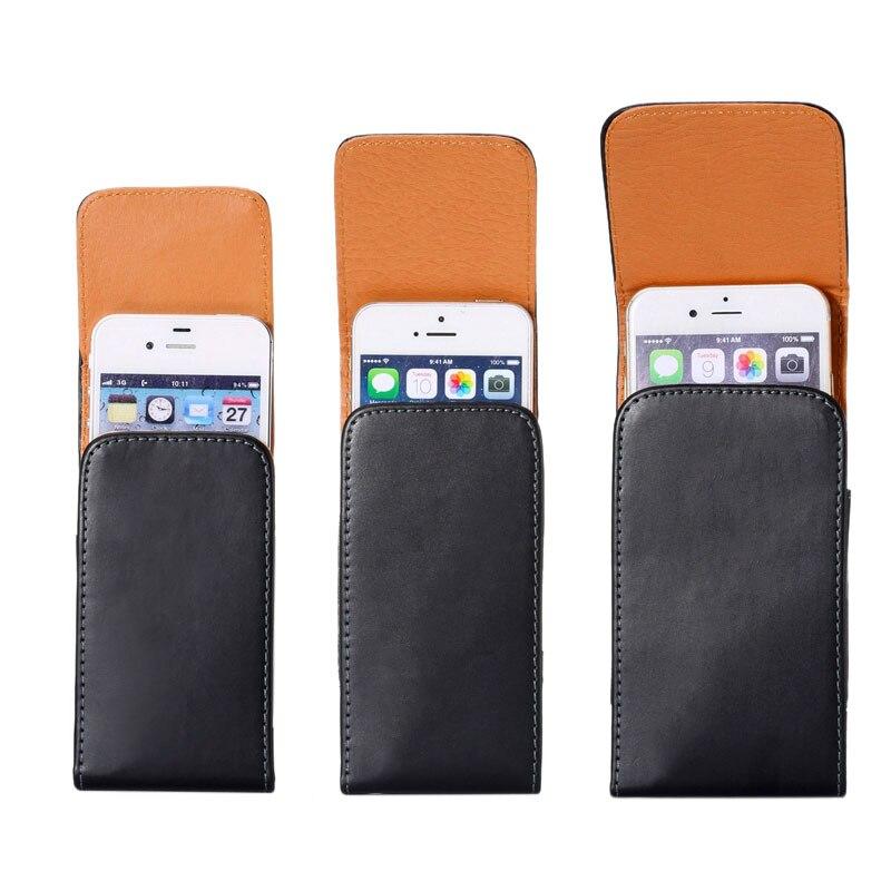 Apple iPhone 7 üçün PU Dəri Çanta Kəmər Klassik Holster, - Cib telefonu aksesuarları və hissələri - Fotoqrafiya 2