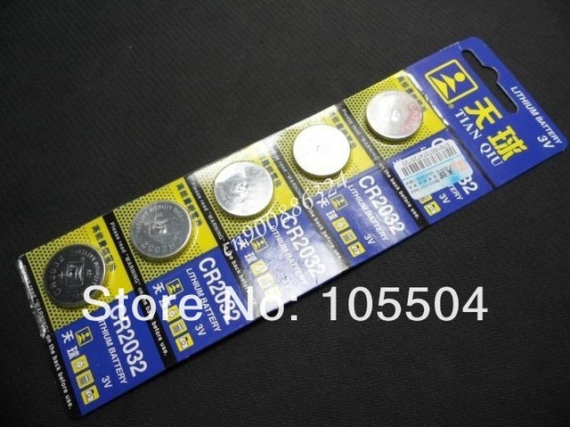 New hot CR2032 CR 2032 3v Lithium Battery Cell Button Coin Battery