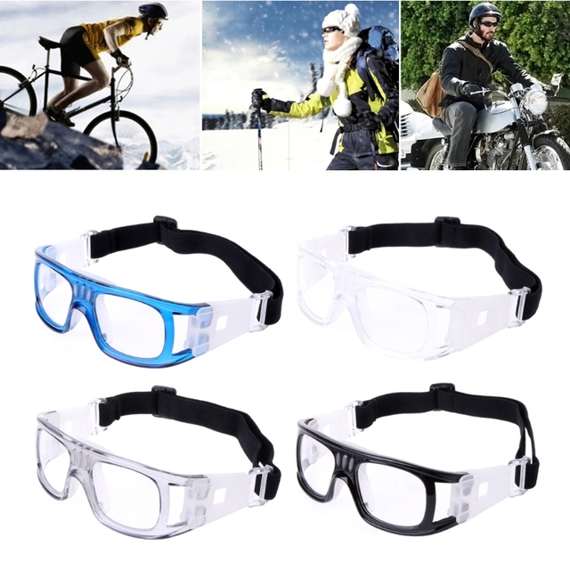 a76d19e3239 Sport Eyewear Protective Goggles Glasses Safe Basketball Soccer Football  Cycling