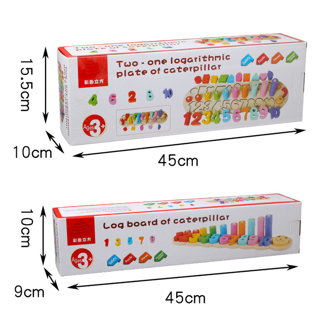 Montessori Counting & Matching Educational Toy