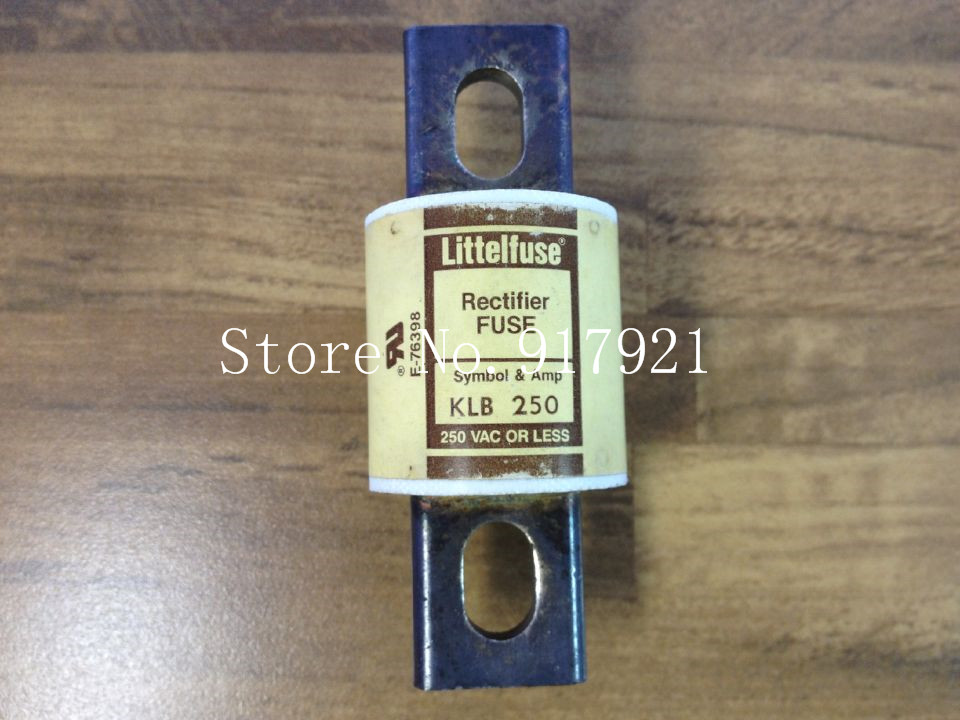 [ZOB] The United States Litteituse KLB250 FUSE 250V Rectiter Lite insurance original  --2pcs/lot [zob] the united states litteifuse netlon nln45 fuse 250v genuine original 3pcs lot