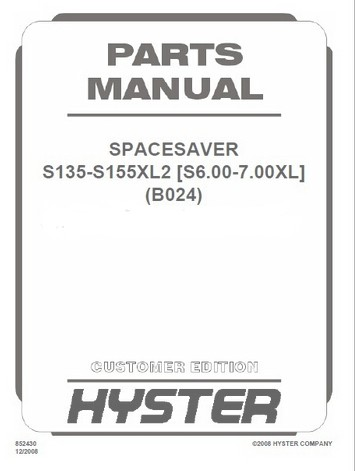New Full Hyster AND YALE Spare Parts And Repair Manuals PDF 2018 For FULL  SET Version