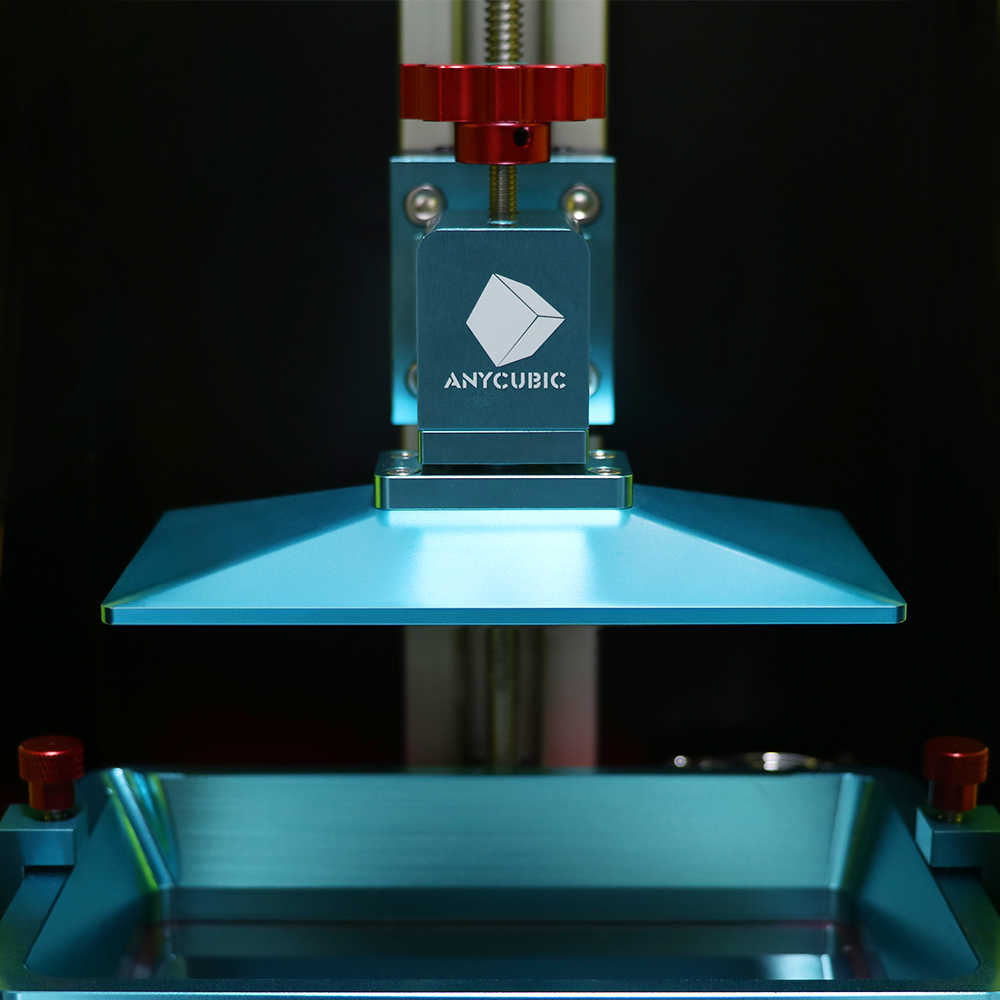 Anycubic Foton 3D Printer Kit dengan Resin SLA Printer 2.8 Inci Penuh Warna TFT Layar 3d Printer Impresora 3D