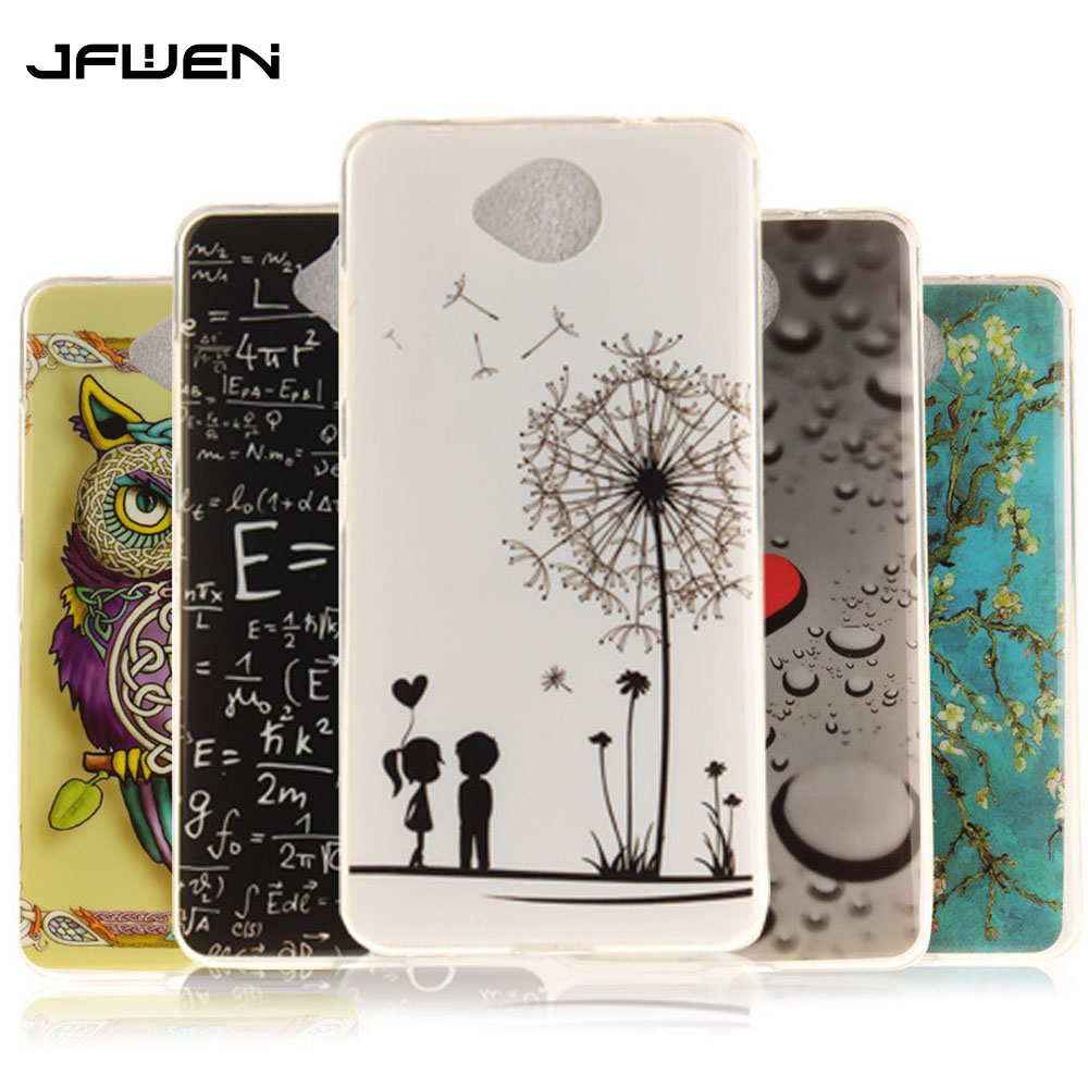 Galleria fotografica JFWEN Silicone Case For Microsoft <font><b>Nokia</b></font> Lumia 650 Case High Quality Cute Cartoon Back Cover For <font><b>Nokia</b></font> Lumia 650 Phone Cover Case
