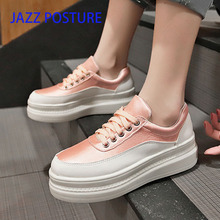 Fashion slip Women Shoes Outdoor Sport Shoes Lace-up Women Running Breathable Sports Shoes 2019 Spring Summer y072