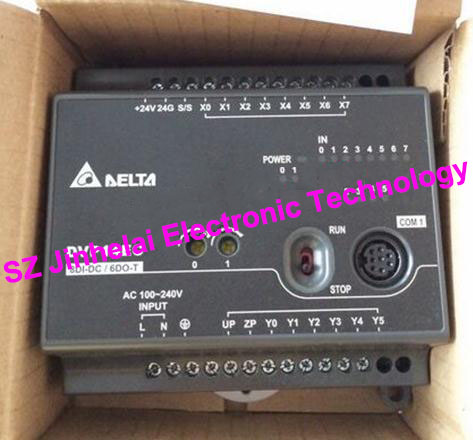 New and original DVP24XN200R, DVP24XN200T DATEL Plc controller, 24DO new and original dvp24es200r dvp24es200t datel plc controller 16di 8do