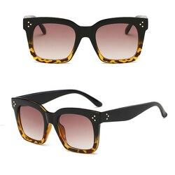 Kim Kardashian okulary przeciwsłoneczne damskie luneta Femme 2020 luksusowa marka kwadratowe ponadgabarytowe okulary przeciwsłoneczne UV400 okulary 5