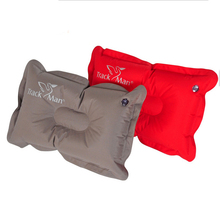 High Quality Air Inflatable Pillow 98g Ultralight Portable Outdoor CampingTravel Comfortably Soft Travel Pillow