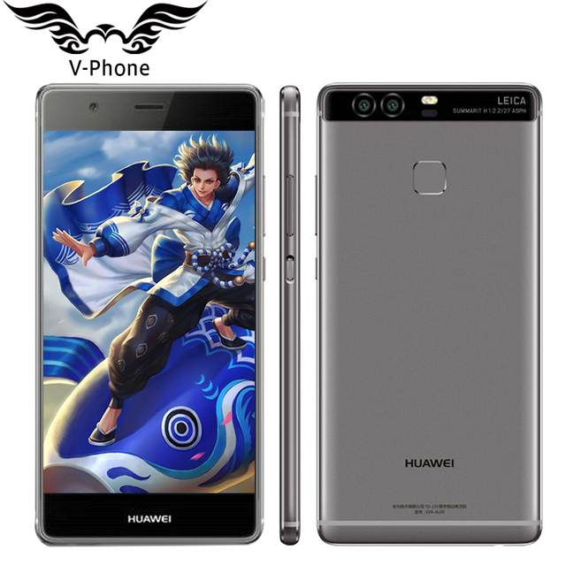 Original Huawei P9 Plus VIE-AL10 4G LTE 5.5 inch Mobile Phone Kirin 955 Octa Core 4GB RAM 64GB ROM Android 6.0 Dual SIM 12.0MP