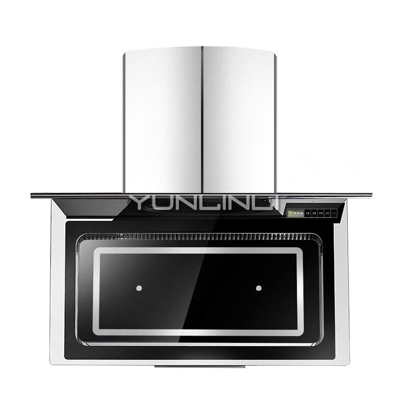 US $262.73 15% di SCONTO|Appeso A parete di Aspirazione Lato Cappa Cucina  Ventilatore Per Uso Domestico Cofano CXW 198 L910-in Cappe aspiranti da ...