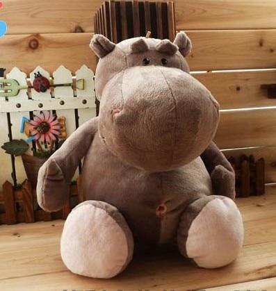 40 cm cute hippo plush toys, baby free shopping, doll