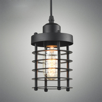 Retro Personality Creative Iron American Restaurant Pendant Lights Clothing Store Coffee Shop Loft Industrial Lamp