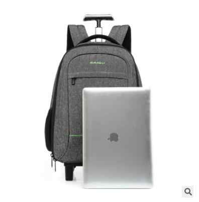 ca5751700b9b ... Travel Rucksack Bag wheeled backpack For Men Cabin Luggage Trolley bags  with wheels Business carry on ...