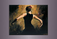 100%Handmade Sexy Woman Dancers Nude Oil Painting Naked Girl Body On Canvas Art Set Home Wall Decoration Modern Abstract Picture
