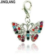 Jinglang совершенно новые ожерелья с застежкой лобстером Висячие