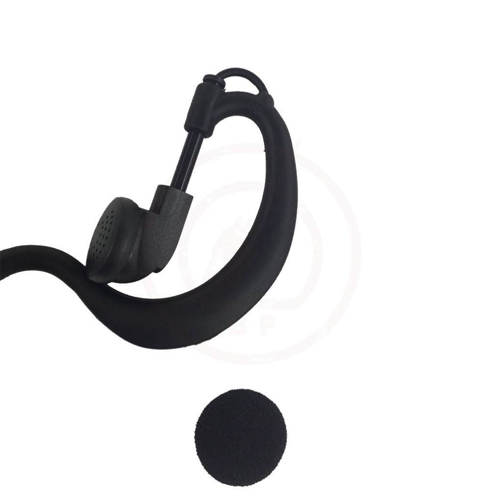 G-Shape Earpiece Headset PTT MIC for YAESU Vertex VX-6R 7R 170 VXA-220 300 Radio