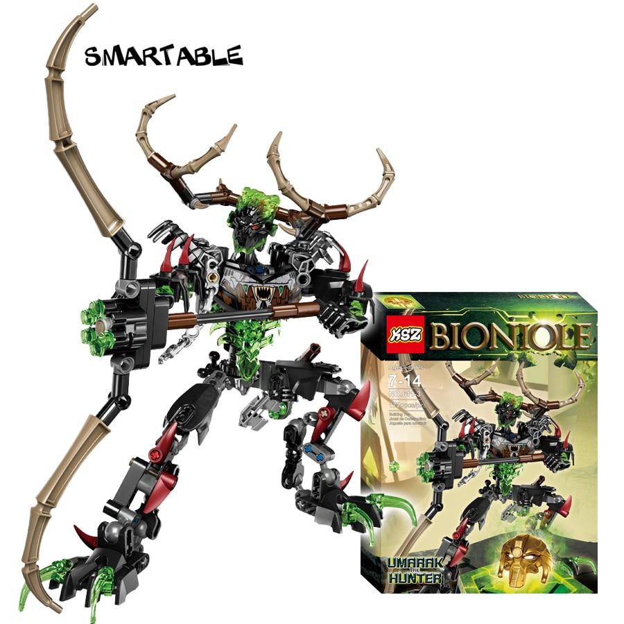 Smartable BIONICLE 172pcs Umarak Hunter  figures 611-3 Building Block toys Compatible legoing BIONICLE Gift lego bionicle 71309 онуа объединитель земли