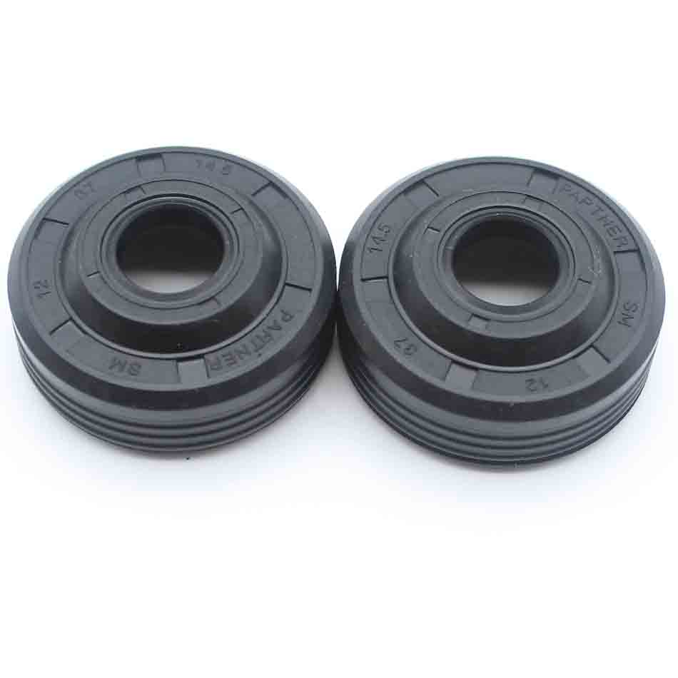 2x Crankshaft Oil Seal Set For HUSQVARNA 137 136 141 142 41 36 # 530 05 63-63 Petrol Chainsaw 2-Stroke Engine Parts