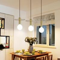 Modern Milk Globe Glass Pendant Lights For Dining Room Bar Restaurant Deco Kitchen Room Hanging Pendant Lamp Fixtures