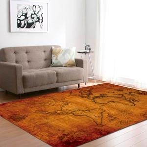 Image 4 - גדול מפת עולם שטיחים שטיח שינה ילדים תינוק לשחק זחילה מחצלת זיכרון קצף אזור שטיחים שטיח לסלון בית דקורטיבי