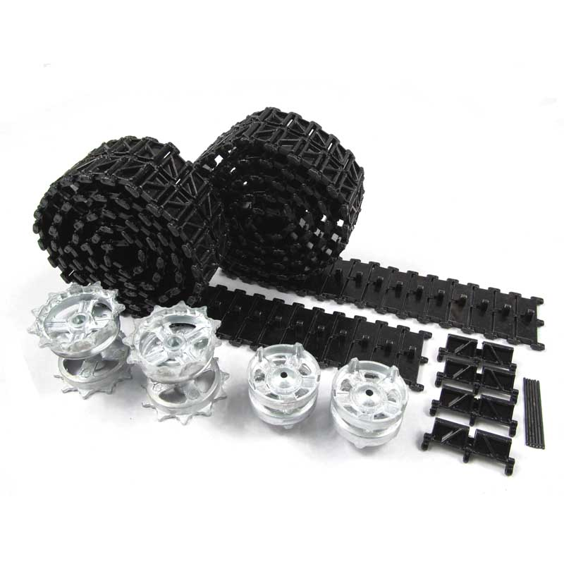 Mato Metal upgraded Tracks, sprockets, idler wheels parts set for Heng Long 3899/99A-1 1/16 1:16 RC Chinese ZTZ 99 Tank
