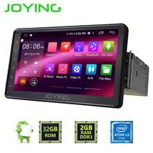 Радуясь последние 2 ГБ Android 6.0 один 1 DIN 7 «Универсальный Автомобильный Радио плеер Мониторы аудио стерео головы устройство поддерживает dab +/OBD/SWC