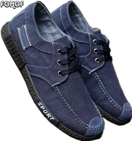 70693166a New Men Denim canvas casual shoes mens moccasins male footwear retro  alpargatas shoes zapatos hombre lona