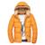 2017 de Invierno Casual Hombres Chaqueta Caliente Cremallera Capa De Los Hombres Con sombrero Más Cinco Colores Tamaño M-3XL de Moda Popular Para Los Hombres MWM1030