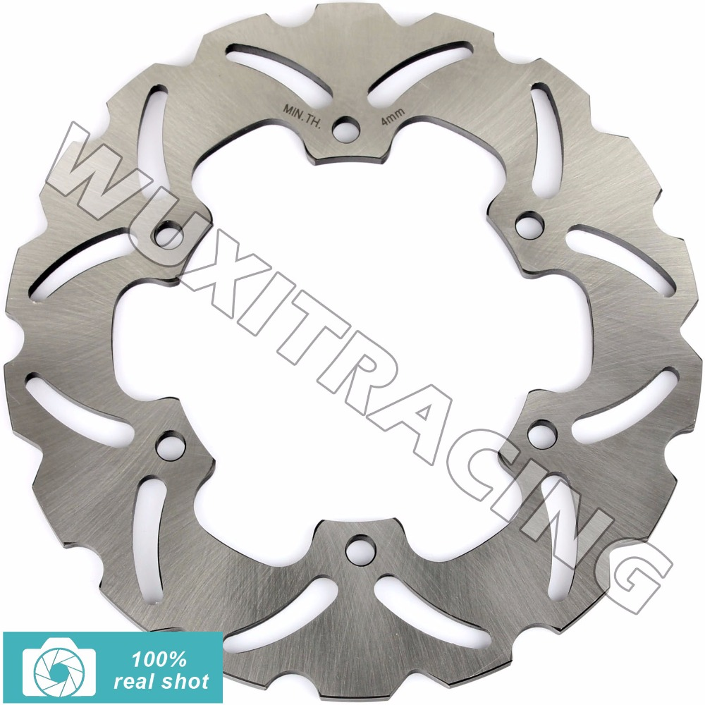 BIKINGBOY Motorcycle New 220mm Rear Brake Disc Rotor for YAMAHA TT 250 TT250 2000 YZF R6 R1 YZFR6 YZFR1 1999-2003 2002 2001 2000 mfs motor motorcycle part front rear brake discs rotor for yamaha yzf r6 2003 2004 2005 yzfr6 03 04 05 gold