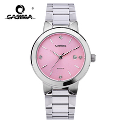 2020 CASIMA Fashion Bracelet Watches Women Casual Ladies Quartz Analog Wrist Watch Women's Waterproof Stainless Steel 5122