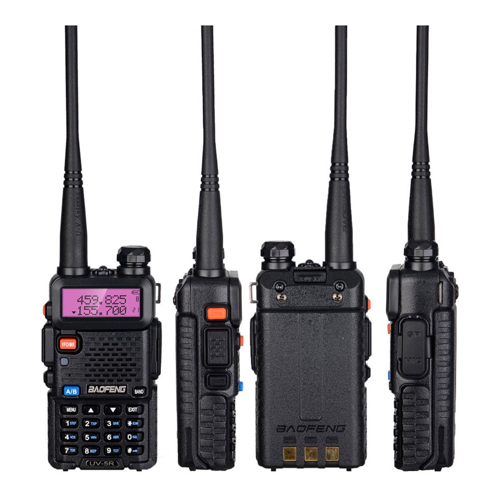 Pour Baofeng BF-UV-5R talkie-walkie double bande VHF UHF UV-5R 8 W Radio bidirectionnelle pour talkie-walkie