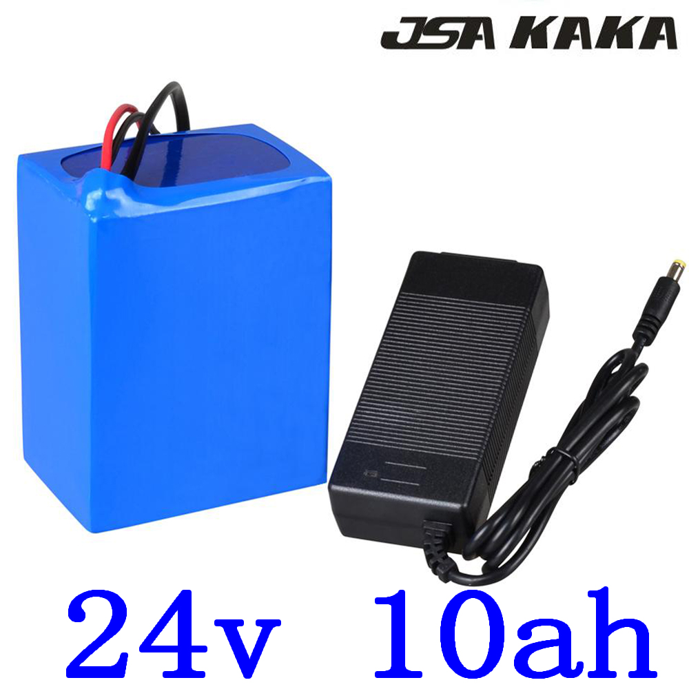29.4v 10Ah electric bicycle battery 24V ebike scooter battery 24v 10ah  lithium ion battery pack with15A BMS +29.4V 2A charger