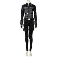 Avengers: Infinity War Natasha Romanoff Black Widow Costume Jumpsuit Halloween Carnival Cosplay Costume