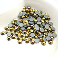 Aurum SS16 DMC Hotfix Flat Back Rhinestones Iron On Hot Fix Strass For Transfer Designs DIY