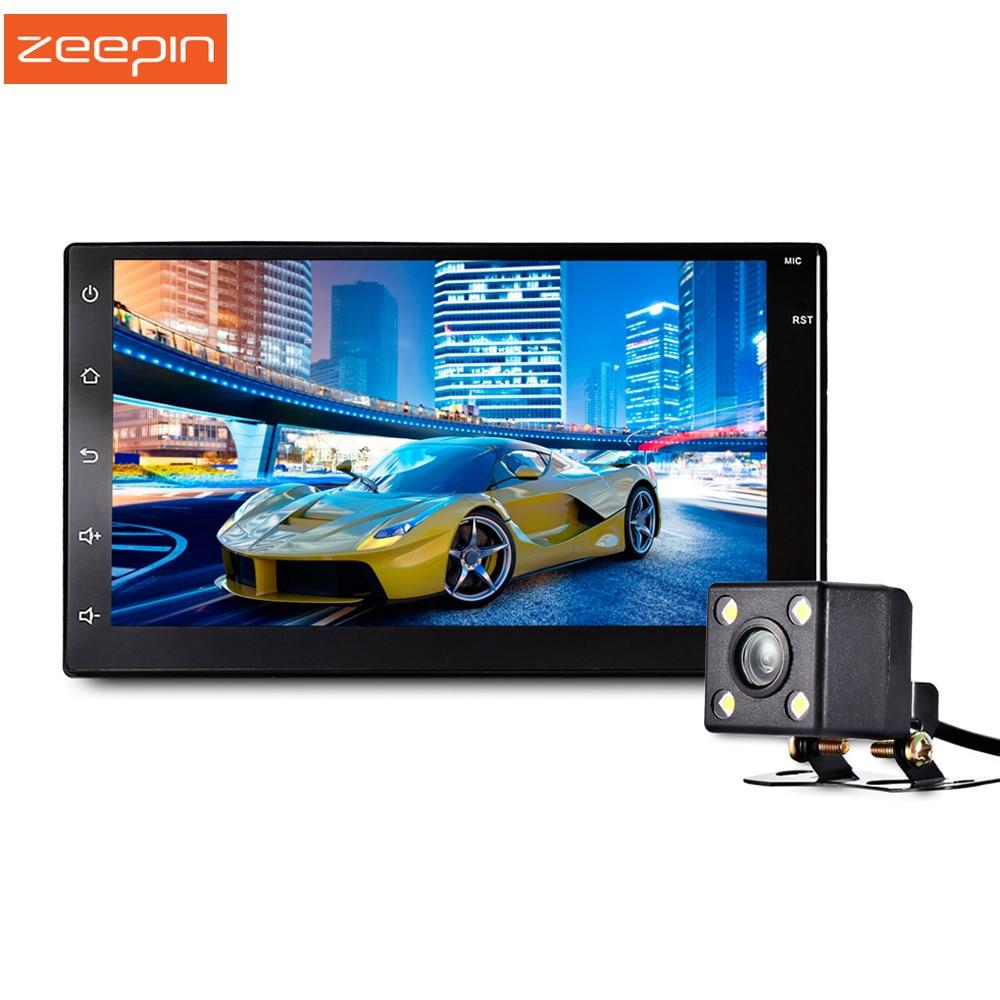 imágenes para Nueva Zeepin 7003 Android 6.0 7 Pulgadas de Pantalla Táctil de Coches Reproductor Multimedia Android 6.0 Construido En GPS Cámara Disponible Alta Guality