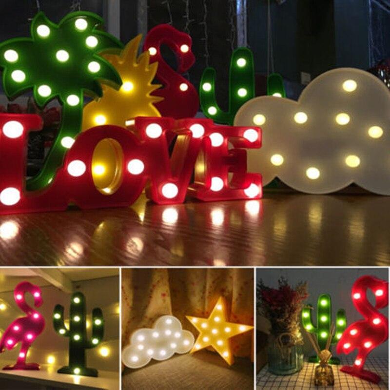 Luzes da Noite crianças quartos flamingo animais luzes Utilização : Feriado