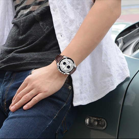 MEGIR мужские спортивные часы многофункциональный хронограф водонепроницаемый Топ бренд Модные наручные часы светящиеся военные Relogio Masculino