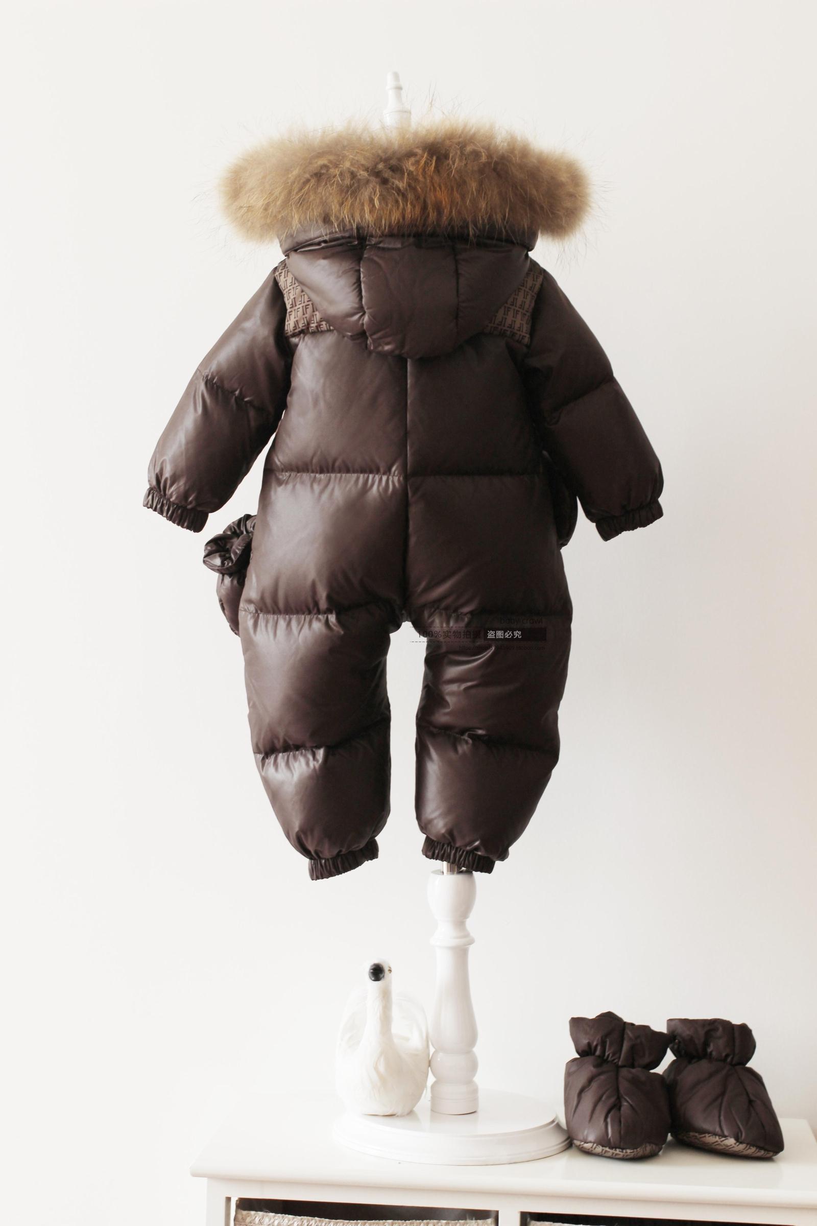 2017 Mode Winter Pasgeboren Winter Jassen voor Baby Meisjes Beneden Jassen Jongens Onesie Down Jas Eendendons 3 6 12 Maanden 2 Jaar 1