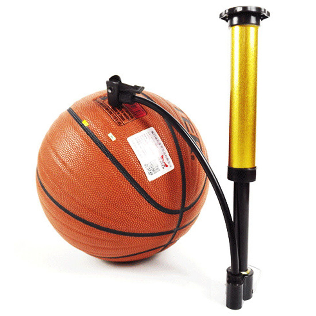 Basketball Hand  MTB Bike  Ball Tire Inflator High Pressure Mini Bicycle Pump