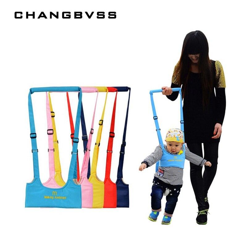 Nueva llegada Andador de bebé, arnés de bebé asistente correa de niño para aprender a caminar cinturón de bebé arnés de seguridad para niños asistente