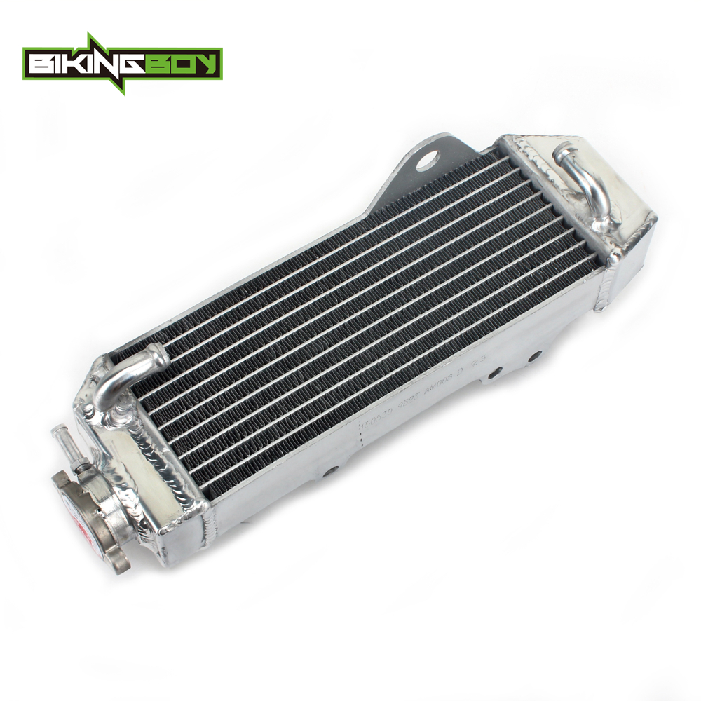 BIKINGBOY Engine Radiator Cooling for HONDA CR80R CR85R 97 98 99 00 01 02 03 04 05 06 07 08 Water Cooler Motorcycle Replacement