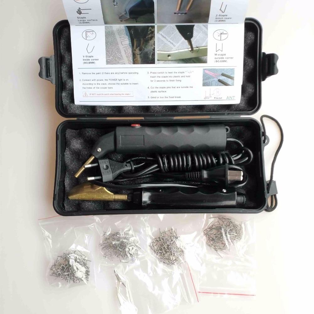 Professional Hot Stapler Plastic Repair System Welding Gun Bumper Fairing Auto Body Tool Plastic Welder Staple Soldering Iron