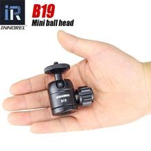 B19 мини штатив шаровая Головка для мобильного телефона смартфон Алюминиевый сплав штатив головка для селфи палка легкая камера 19 мм мяч
