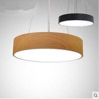 Minimalist Round Modern LED Pendant Lights Simple Hanglamp Fixtures For Home Lightings Bar Cafe Lampadari Lustre De Cristal