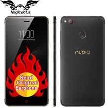 Новый оригинальный ZTE Нубия Z11 мини S 4 г LTE мобильный телефон Octa core 5.2 дюйма 4 ГБ 64 ГБ Android 6.0 Dual SIM 23MP отпечатков пальцев ID