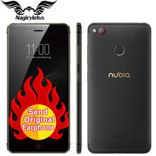 New Original ZTE Nubia Z11 mini S miniS 4G LTE Mobile Phone Octa Core 5.2″ 4GB 64/128GB Android 6.0 Dual SIM 23.0MP Fingerprint