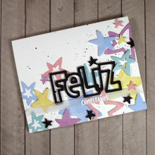 JC Metal Cutting Dies Scrapbooking Dies Cut Feliz Letter Craft Stencil Handmade Album Paper Card Making Decor Model 2019 New Die feliz feliz aburrimiento