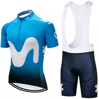 Bisiklet jersey 2018 UCI İspanya ekibi kısa kollu bisiklet setleri ropa ciclismo Espana erkek bisiklet MTB bisiklet giyim önlüğü şort kiti